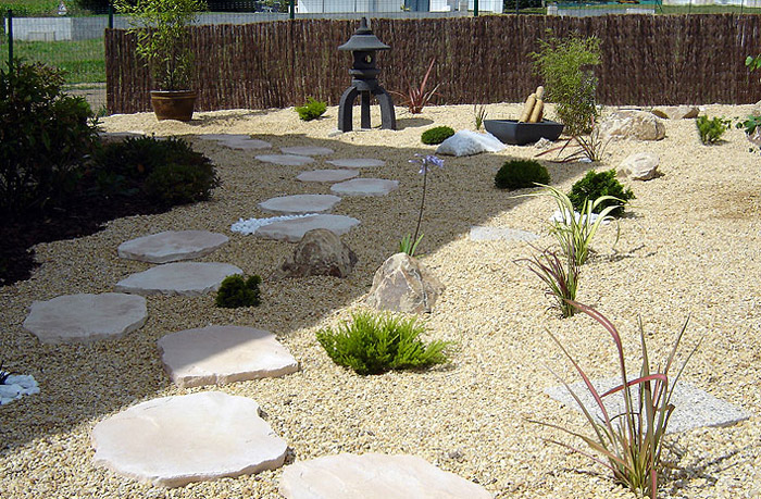 Creation jardin zen great potager en carr with creation for Ambiance zen jardin